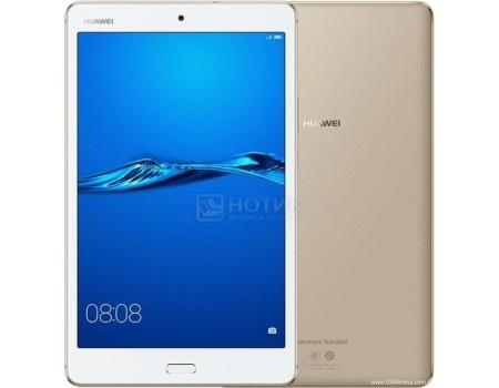 "Фотография товара планшет Huawei MediaPad M3 Lite 8 32Gb Gold (Android 7.0 (Nougat)/MSM8940 1400MHz/8.0"" 1920x1200/3072Mb/32Gb/4G LTE ) [53019448] (57058)"