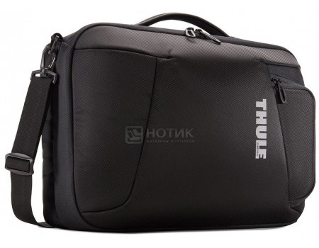 """Фотография товара сумка-рюкзак 15,6"""" Thule Accent Laptop Bag TACLB-116, Полиэстер, Черный (57201)"""