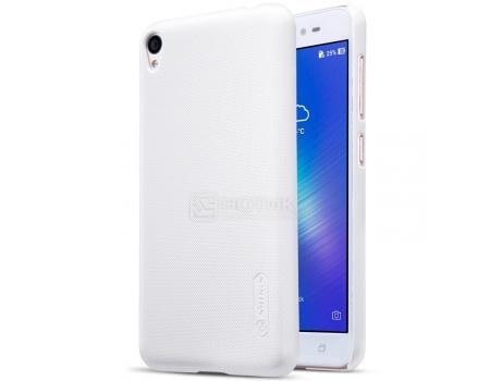 Фотография товара чехол-накладка Nillkin Super Frosted для смартфона ASUS ZenFone Live ZB501KL, Пластик, White, Белый F-HC AS-ZB501KL White (57206)