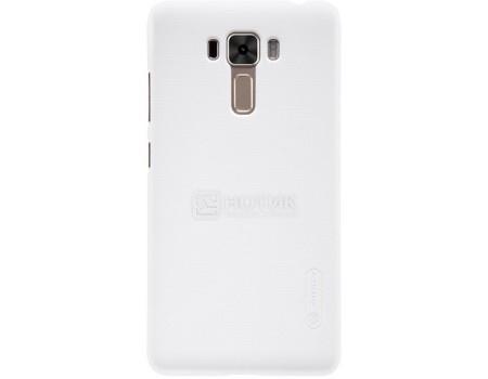 Фотография товара чехол-накладка Nillkin Super Frosted для смартфона ASUS ZenFone 3 Laser ZC551KL, Пластик, White, Белый F-HC AS-ZC551KL White (57208)