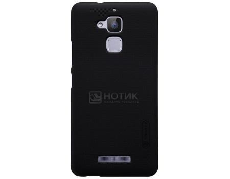 Фотография товара чехол-накладка Nillkin Super Frosted для смартфона ASUS ZenFone 3 Max ZC520TL, Пластик, Black, Черный F-HC AS-ZC520TL Black (57210)