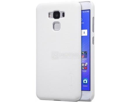 Фотография товара чехол-накладка Nillkin Super Frosted для смартфона ASUS ZenFone 3 MAX ZC553KL, Пластик, White, Белый F-HC AS-ZC553KL White (57213)