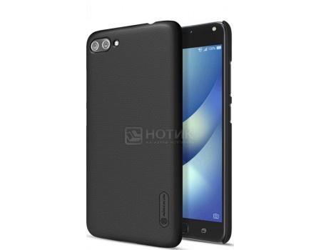 Купить чехол-накладка Nillkin Super Frosted для смартфона ASUS ZenFone 4 Max ZC554KL, Пластик, Black, Черный F-HC AS-ZC554KL Black (57214) в Москве, в Спб и в России