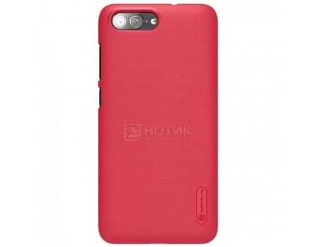 Фотография товара чехол-накладка Nillkin Super Frosted для смартфона ASUS ZenFone 4 Max ZC554KL, Пластик, Red, Красный F-HC AS-ZC554KL Red (57216)