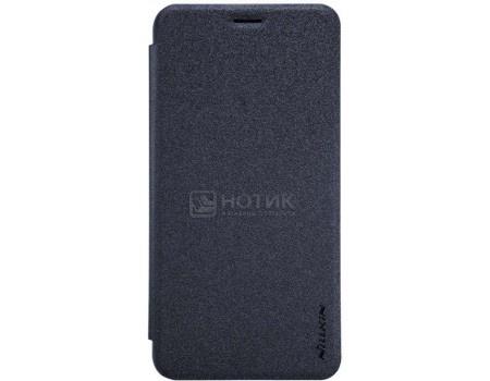 Фотография товара чехол-книжка Nillkin Sparkle Case для смартфона ASUS ZenFone 3 MAX ZC553KL, Пластик/искусственная кожа, Black, Черный SP-LC AS-ZC553KL Black (57226)