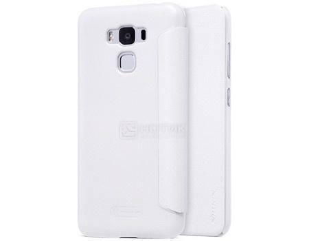 Фотография товара чехол-книжка Nillkin Sparkle Case для смартфона ASUS ZenFone 3 MAX ZC553KL, Пластик/искусственная кожа, White, Белый SP-LC AS-ZC553KL White (57227)