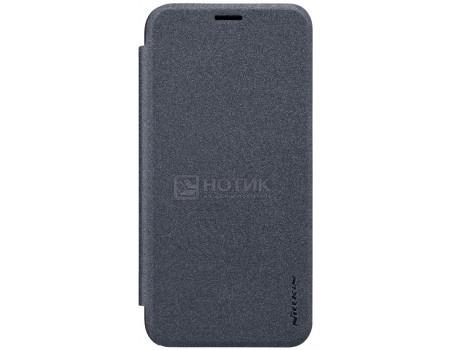 Фотография товара чехол-книжка Nillkin Sparkle Case для смартфона ASUS ZenFone 4 Selfie Pro ZD552KL, Пластик/искусственная кожа, Black, Черный SP-LC AS-ZD552KL Black (57230)