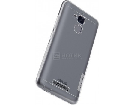 Чехол-накладка Nillkin TPU case для смартфона ASUS ZenFone 3 Max ZC520TL, Силикон, White, Белый N-TPU AS-ZC520TL White