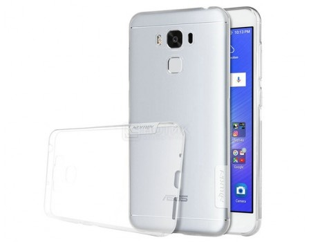 Чехол-накладка Nillkin TPU case для смартфона ASUS ZenFone 3 MAX ZC553KL, Силикон, White, Белый N-TPU AS-ZC553KL White