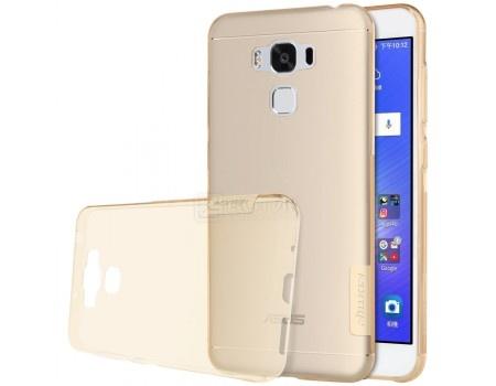 Фотография товара чехол-накладка Nillkin TPU case для смартфона ASUS ZenFone 3 MAX ZC553KL, Силикон, Brown, Коричневый N-TPU AS-ZC553KL Brown (57235)