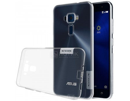 Чехол-накладка Nillkin TPU case для смартфона ASUS ZenFone 3 ZE520KL, Силикон, White, Белый N-TPU AS-ZE520KL White