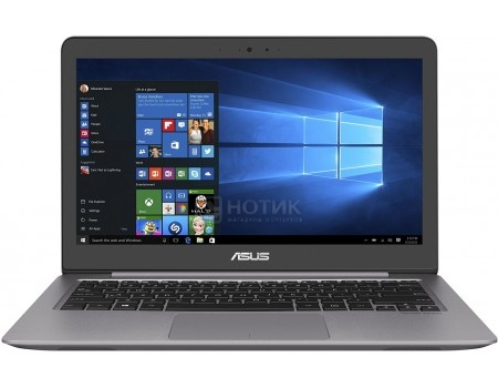 Ультрабук ASUS Zenbook UX310UA-FC593R (13.3 IPS (LED)/ Core i3 7100U 2400MHz/ 4096Mb/ HDD 500Gb/ Intel HD Graphics 620 64Mb) MS Windows 10 Professional (64-bit) [90NB0CJ1-M15540]