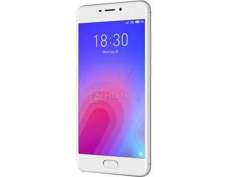 Смартфон Meizu M6 16Gb Silver (Android 7.0 (Nougat)/MT6750 1500MHz/5.2* 1280x720/2048Mb/16Gb/4G LTE ) [M711H-16-SW], арт: 57357 - Meizu