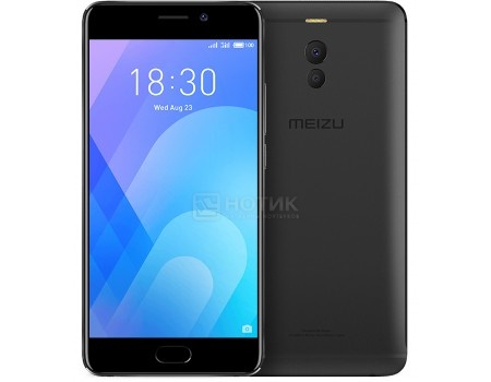Смартфон Meizu M6 Note 16Gb Black (Android 7.1 (Nougat)/MSM8953 2000MHz/5.5