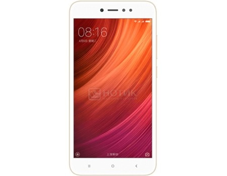 Смартфон Xiaomi Redmi Note 5A Prime 32Gb Gold (Android 7.0 (Nougat)/MSM8940 1400MHz/5.5* 1280x720/3072Mb/32Gb/4G LTE ) [Redmi_Note_5A_Prime_32GB_Gold], арт: 57379 - Xiaomi