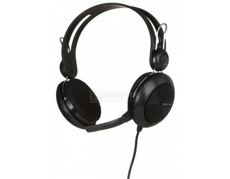 Гарнитура проводная Canyon Stereo Headset Black, USB, Черный CNE-CHSU1B