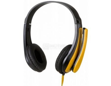 Фотография товара гарнитура проводная Canyon Stereo Headset Black/Yellow, Черный/Желтый CNS-CHSC1BY (57414)