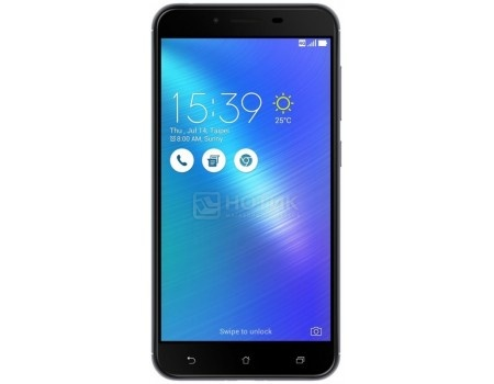 Смартфон ASUS Zenfone 3 Max ZC553KL-4H112RU Titanium Gray (Android 6.0 (Marshmallow)/MSM8937 1400MHz/5.5* 1920x1080/2048Mb/16Gb/4G LTE ) [90AX00D2-M01780], арт: 57514 - ASUS