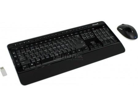 Клавиатура   мышь беспроводная Microsoft Wireless Desktop 3050, (комплект), Черный PP3-00018, арт: 57576 - Microsoft