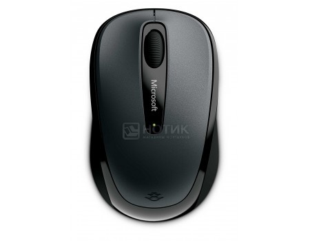 Мышь беспроводная Microsoft Wireless Mobile Mouse 3500, 1000dpi, Wireless, Серый GMF-00289 фото
