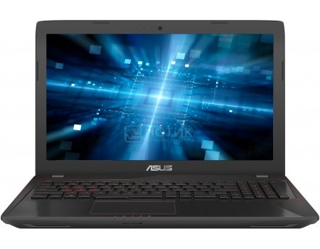 Ноутбук ASUS FX553VE-DM473 (15.6 TN (LED)/ Core i5 7300HQ 2500MHz/ 12288Mb/ HDD+SSD 1000Gb/ NVIDIA GeForce® GTX 1050Ti 2048Mb) Endless OS [90NB0DX4-M07080]