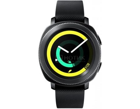 Смарт-часы Samsung Gear Sport SM-R600, 300мАч,Черный SM-R600NZKASER