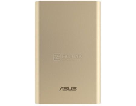 Внешний аккумулятор Asus ZenPower ABTU005 10050 мАч,  micro USB/USB, 5V/2.0А, 5V/2.4А Золотистый 90AC00P0-BBT078