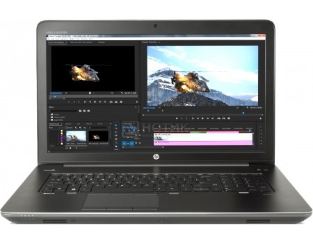 Ноутбук HP ZBook 17 G4 (17.3 IPS (LED)/ Xeon E3-1535M v6 3100MHz/ 32768Mb/ SSD / NVIDIA Quadro P4000 8192Mb) MS Windows 10 Professional (64-bit) [Y6K38EA], арт: 57758 - HP