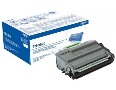 Фотография товара тонер-картридж Brother TN3520 для HL-L6400DW, HL-L6400DWT, MFC-L6900DW, MFC-L6900DWT, Черный TN3520 20000стр (57763)