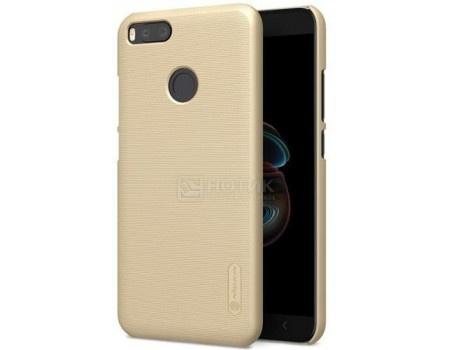 Фотография товара чехол-накладка NILLKIN для смартфона Xiaomi Mi A1/5X, Пластик, Золотистый 6902048145269 (57784)