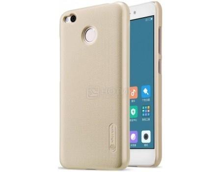 Фотография товара чехол-накладка NILLKIN для смартфона Xiaomi Redmi 4X, Пластик, Золотистый 6902048138940 (57785)