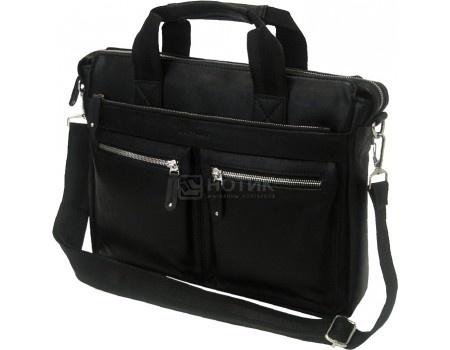 """Фотография товара сумка 14"""" Cross Case CC14-327, Искусственная кожа, Черный (57789)"""