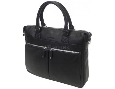 """Фотография товара сумка 14"""" Cross Case CC14-338, Искусственная кожа, Черный (57790)"""