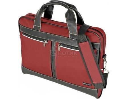 """Фотография товара сумка 15,6"""" Cross Case CC15-014, Нейлон, Бордовый (57794)"""