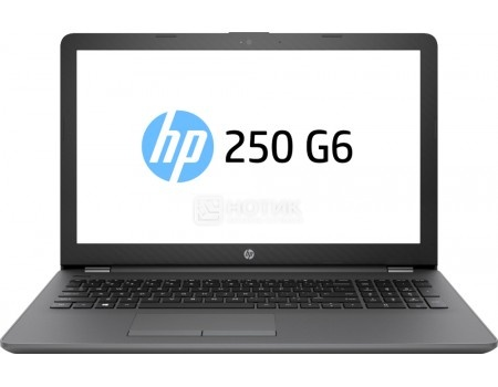 Ноутбук HP 250 G6 (15.6 TN (LED)/ Core i5 7200U 2500MHz/ 4096Mb/ HDD 1000Gb/ Intel HD Graphics 620 64Mb) MS Windows 10 Professional (64-bit) [1XN65EA], арт: 57800 - HP
