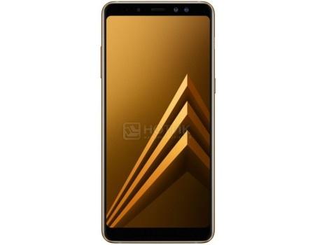 """Фотография товара смартфон Samsung Galaxy A8+ 2018 SM-A730F Gold (Android 7.1 (Nougat)/Exynos 7885 2200MHz/6.0"""" 2220x1080/4096Mb/32Gb/4G LTE ) [SM-A730FZDDSER] (57828)"""