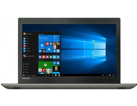 Фотография товара ноутбук Lenovo IdeaPad 520-15 (15.6 IPS (LED)/ Core i3 7100U 2400MHz/ 4096Mb/ HDD 500Gb/ NVIDIA GeForce GT 940MX 2048Mb) MS Windows 10 Home (64-bit) [80YL00GURK] (57835)