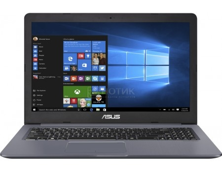 Ноутбук ASUS VivoBook Pro 15 N580VD-FI758R (15.6 IPS (LED)/ Core i7 7700HQ 2800MHz/ 16384Mb/ HDD SSD 1000Gb/ NVIDIA GeForce® GTX 1050 2048Mb) MS Windows 10 Professional (64-bit) [90NB0FL4-M11960], арт: 57856 - ASUS