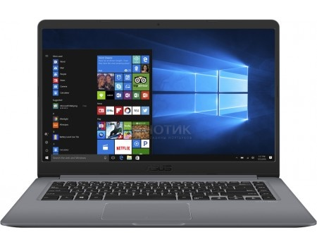 Ультрабук ASUS VivoBook S15 S510UA-BQ734T (15.6 IPS (LED)/ Core i3 7100U 2400MHz/ 6144Mb/ SSD / Intel HD Graphics 620 64Mb) MS Windows 10 Home (64-bit) [90NB0FQ5-M11260]