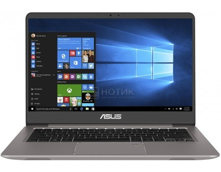 Ультрабук ASUS Zenbook UX410UF-GV013T (14.0 IPS (LED)/ Core i7 8550U 1800MHz/ 8192Mb/ HDD+SSD 1000Gb/ NVIDIA GeForce® MX130 2048Mb) MS Windows 10 Home (64-bit) [90NB0HZ3-M00490]