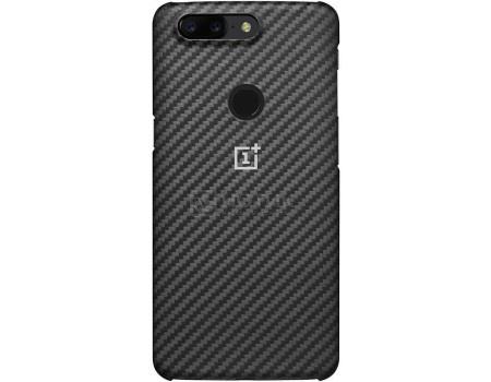 Чехол-накладка OnePlus для смартфона OnePlus 5T Karbon Protective Case, Кевлар/Пластик, Gray, Серый 5431100030 от Нотик