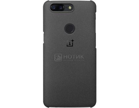 Чехол-накладка OnePlus для смартфона OnePlus 5T Sandstone Protective Case, Пластик, Black, Черный 5431100031 от Нотик