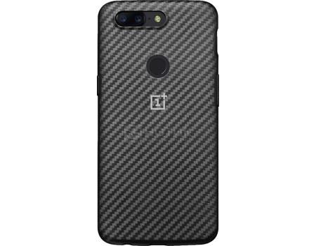 Чехол-накладка OnePlus для смартфона OnePlus 5T Karbon Bumper Case, Кевлар/Пластик, Gray, Серый 5431100032 от Нотик
