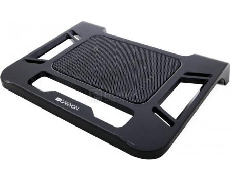 """Подставка для ноутбука 17"""" Canyon Laptop Cooling, 1xВентилятор 120мм, Черный CNR-FNS01"""