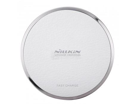 Фотография товара беспроводное зарядное устройство Nillkin Magic disk III Wireless charger, Белый MD-WCP III-FC White (57948)