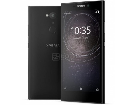 Смартфон Sony Xperia L2 Dual Black (Android 7.1 (Nougat)/MT6737T 1500MHz/5.5