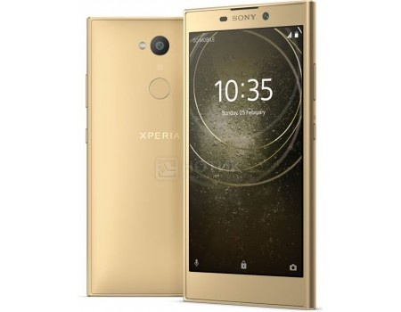Смартфон Sony Xperia L2 Dual Gold (Android 7.1 (Nougat)/MT6737T 1500MHz/5.5