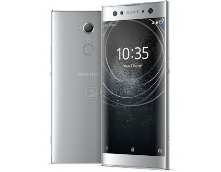 Смартфон Sony Xperia XA2 Dual Silver (Android 8.0 (Oreo)/Snapdragon 630 2400MHz/5.2