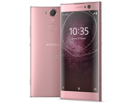 Смартфон Sony Xperia XA2 Dual Pink (Android 8.0 (Oreo)/Snapdragon 630 2400MHz/5.2