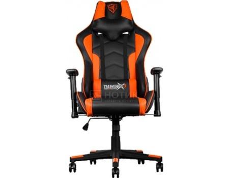 Кресло геймерское ThunderX3 TGC22-BO, Искусственная кожа, Черный/ Оранжевый TX3-22BO от Нотик